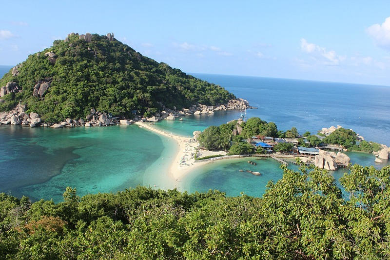 Viewpoint on Koh Nang Yuan