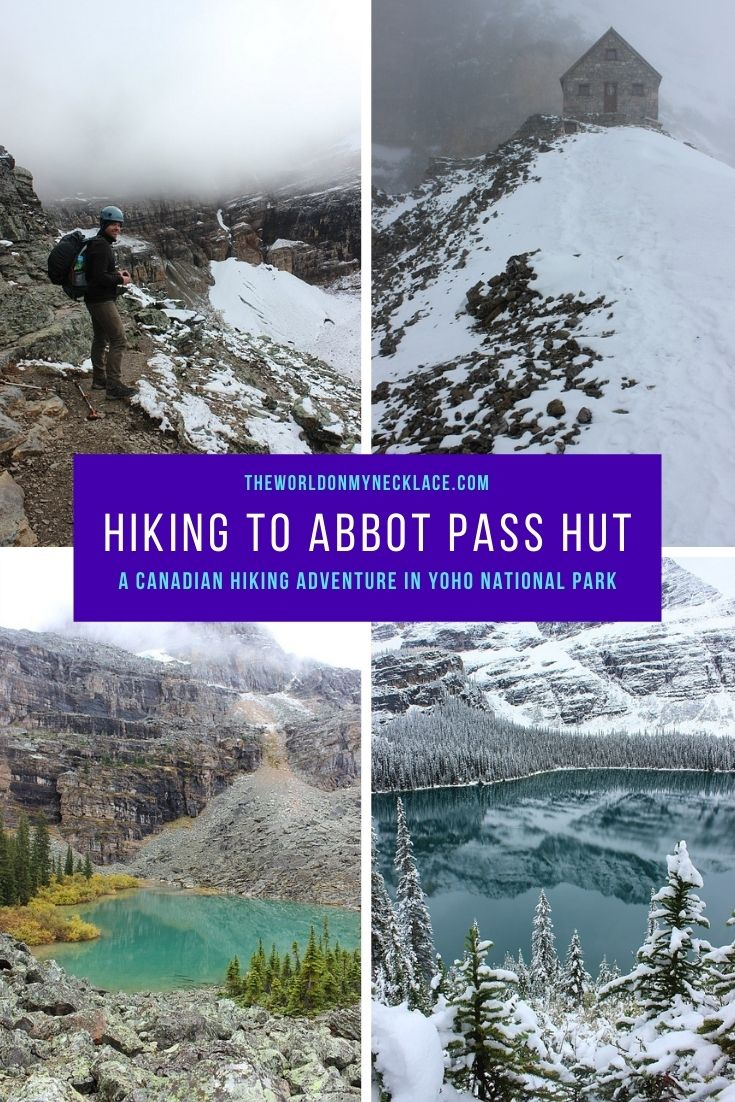 Hiking to Abbot Pass Hut in the Canadian Rockies