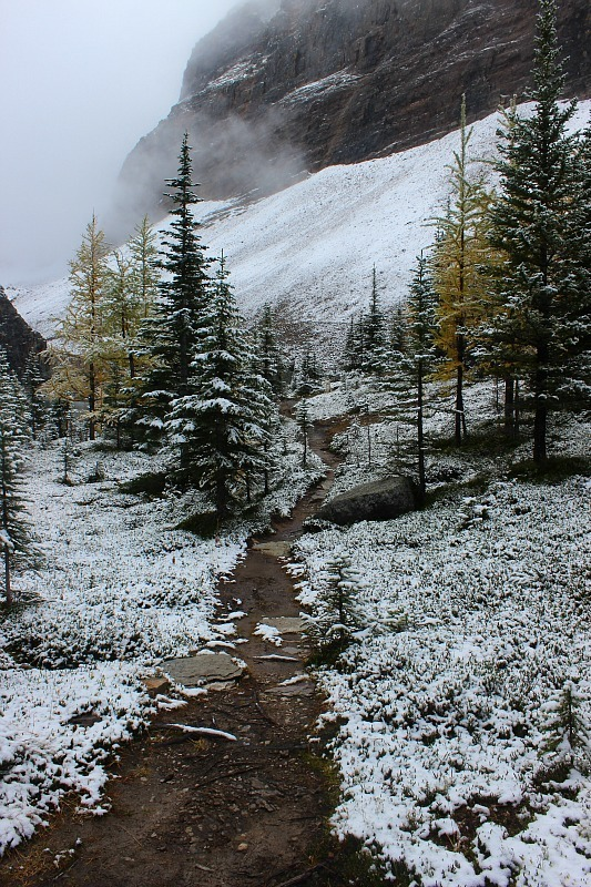 Rockies winter wonderland in September