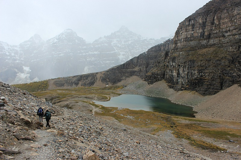 Sentinel Pass trail - one of the best fall hikes in Banff National Park
