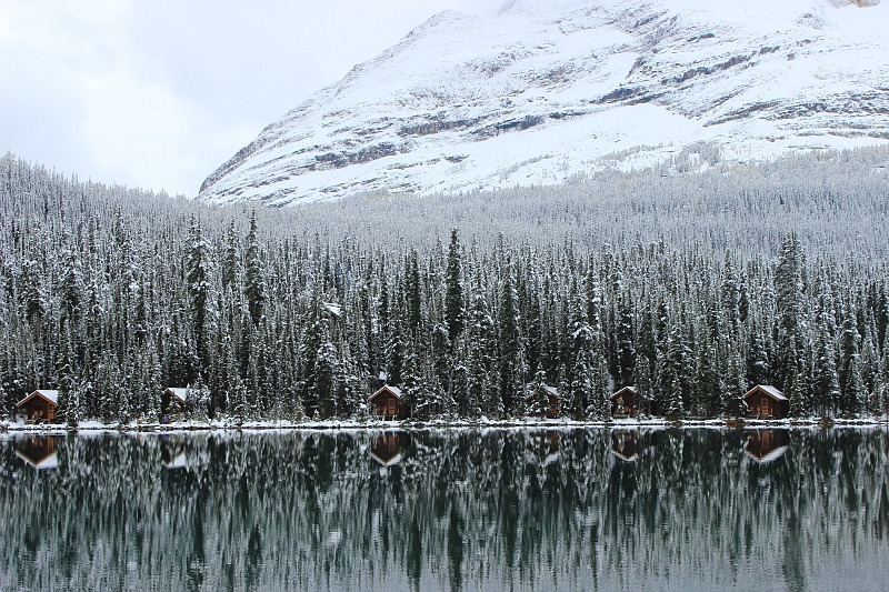 Wintery Lake O'Hara