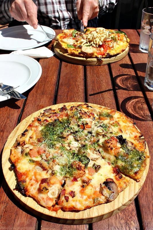 Amazing pizza at Winnie's in Queenstown, Otago