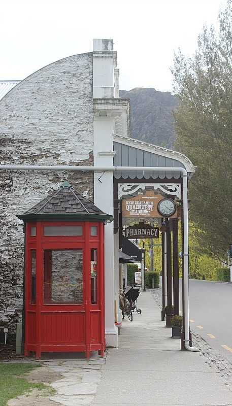 Arrowtown in the Otago Region of New Zealand's South Island