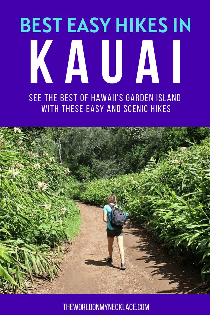The Best Easy Hikes Kauai