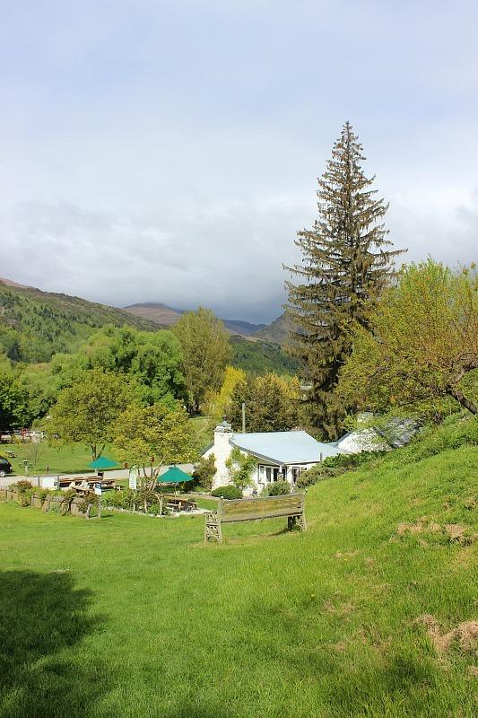 Countryside around Arrowtown in Otago