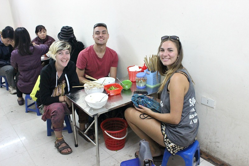 Eating out in Hanoi during month eight of digital nomad life
