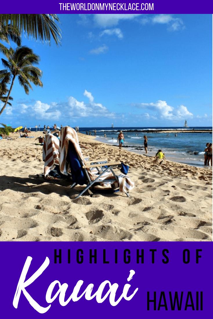 One Week in Kauai Highlights