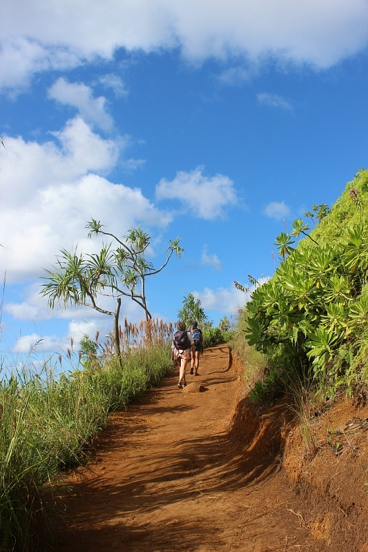 Hiking Kalalau Trail is one of the best Kauai Hiking Adventures