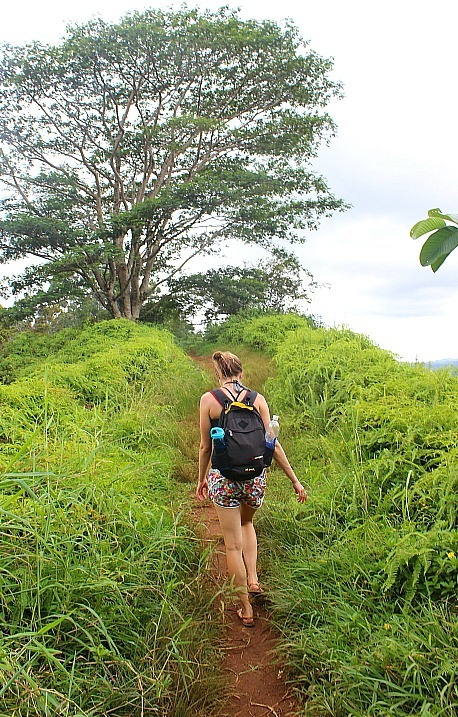Hiking Kuilau Ridge, one of the best easy hikes in Kauai