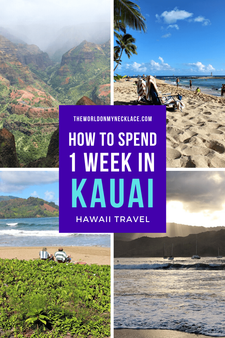 How to Spend One Week in Kauai