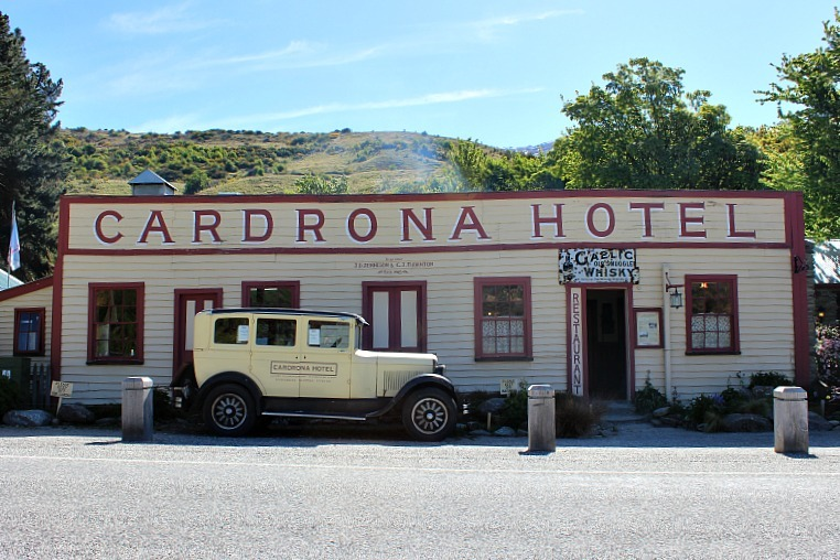 Iconic Cardrona Hotel in the Otago Region of New Zealand