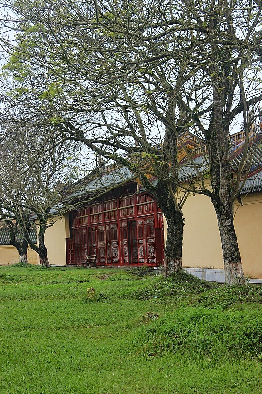 Exploring the Imperial Palace in Hue during month eight of digital nomad life