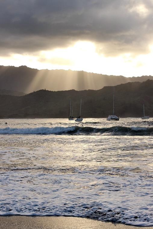 Moody Hanalei on Kauai, the Garden Island