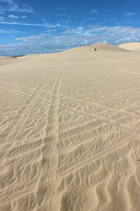 Mui Ne Sand dunes during month seven of digital nomad life