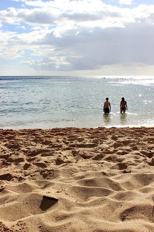 Poipu Beach on Kauai, the Garden Island