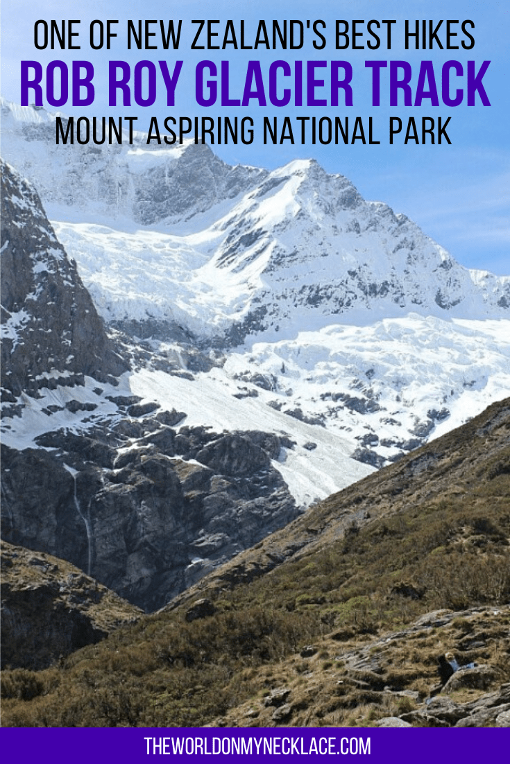 Rob Roy Glacier Hike in Mount Aspiring National Park