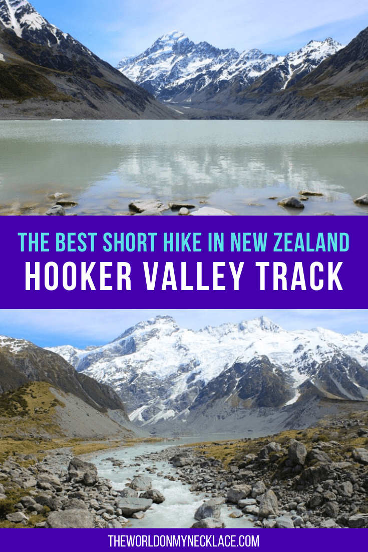 Hiking the Hooker Valley Track to Mount Cook