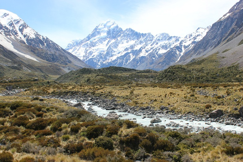 Hooker Valley and Mount Cook