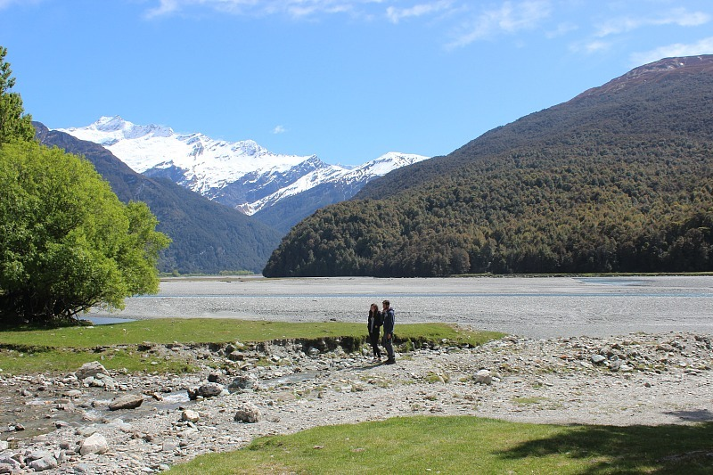 Matukituki River in Mount Aspiring National Park