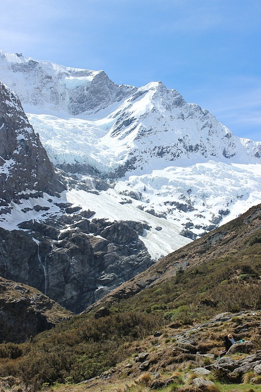 Mountains of Mt Aspiring NP