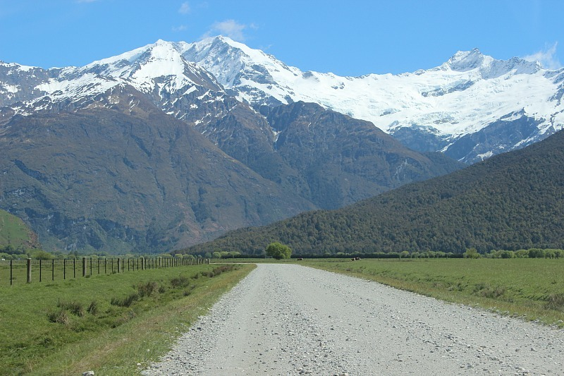 The road to Mount Aspiring