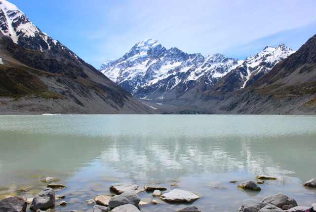 View to Mount Cook