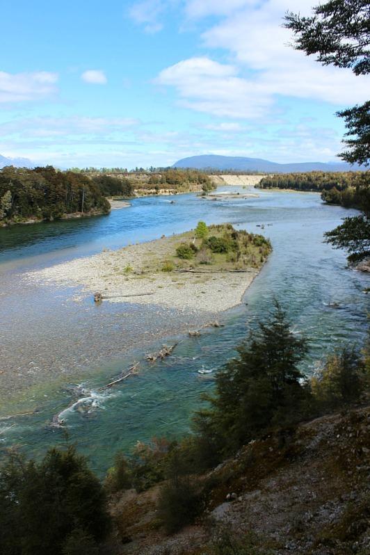Waiau River views on the Kepler Track