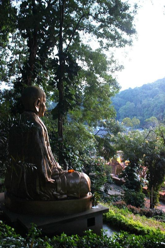 Buddha statue in Chiang Mai, Thailand