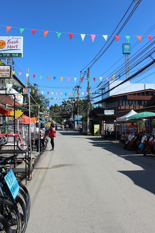 Pai town centre