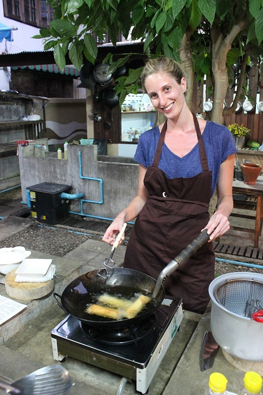 Thai Cooking School in Pai, Thailand