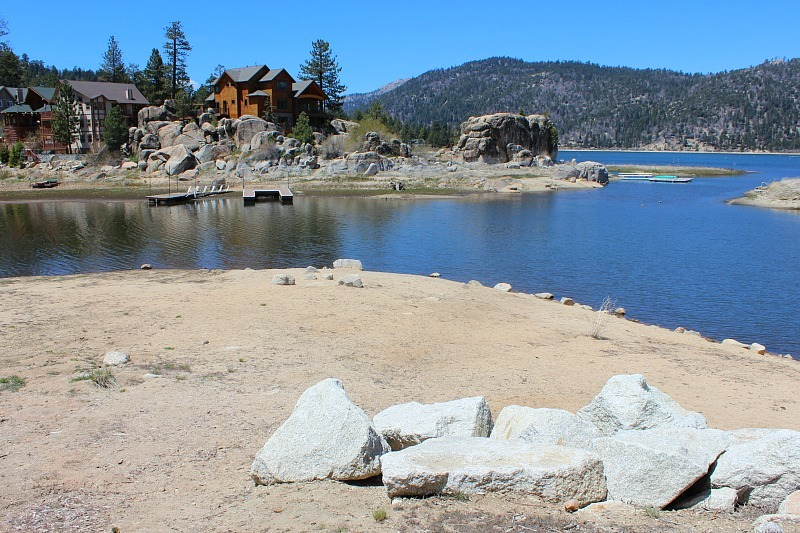 Big Bear Lake in summer