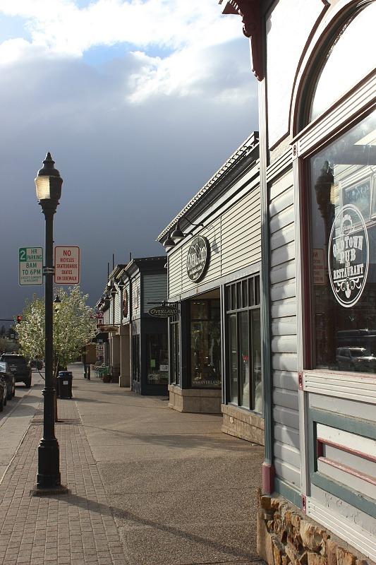 Moody skies in Steamboat Springs during month 11 of digital nomad life