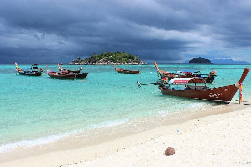 Moody skies over Ko Lipe