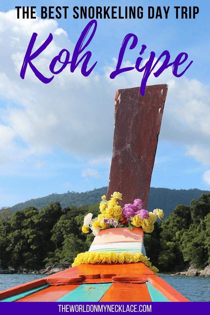 The Best Koh Lipe Snorkeling Day Trip