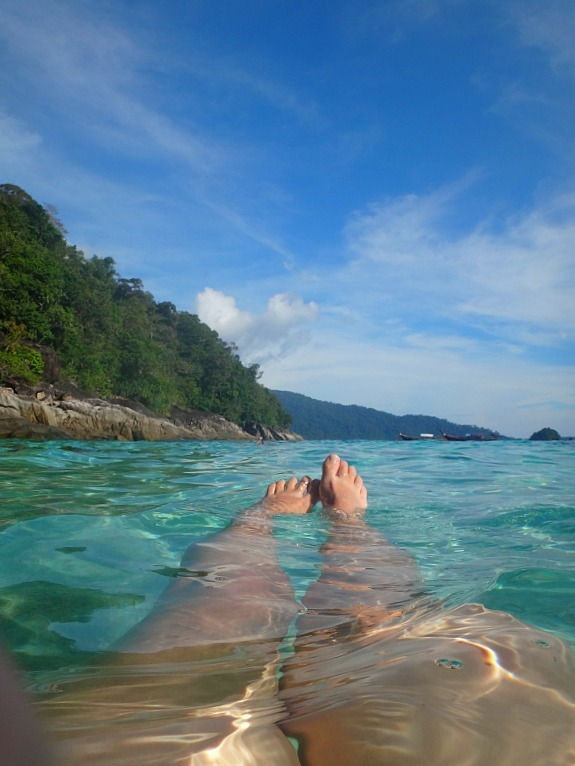 Waters of Ko Yang - one of the stops on our Koh Lipe snorkeling trip