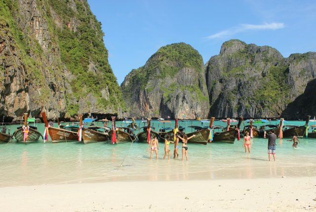 Beautiful Maya Bay
