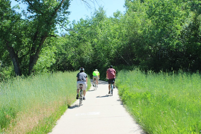 Biking in Arvada