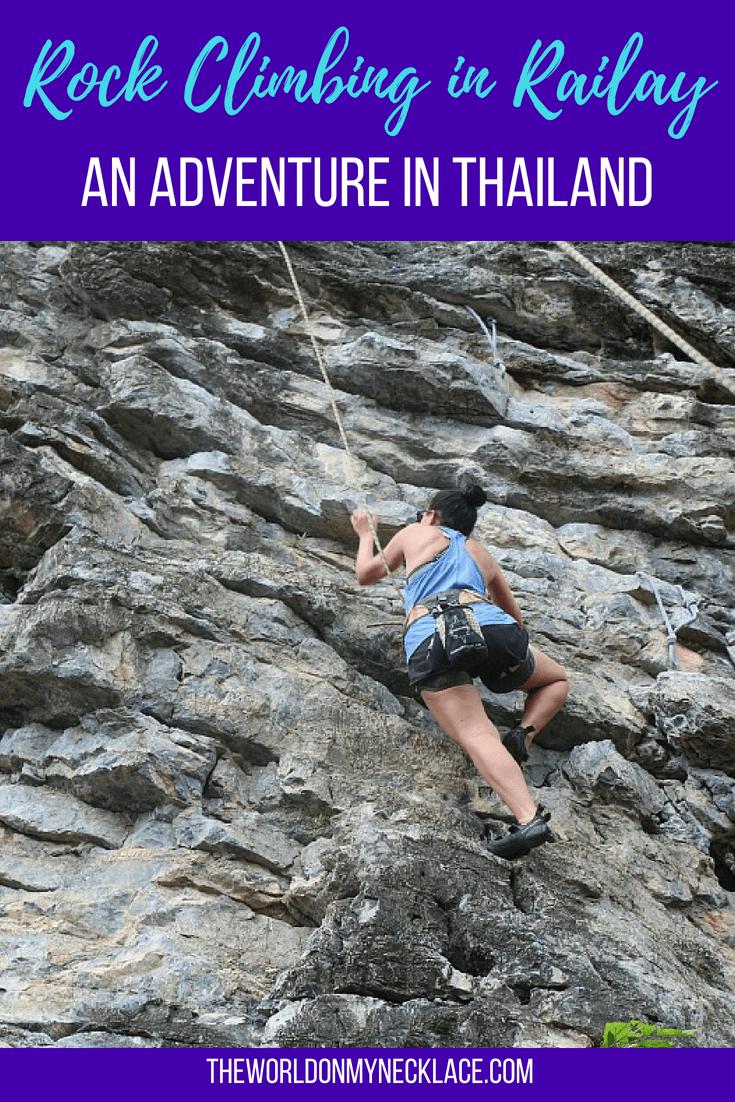Rock Climbing in Railay Bay: An Adventure in Thailand