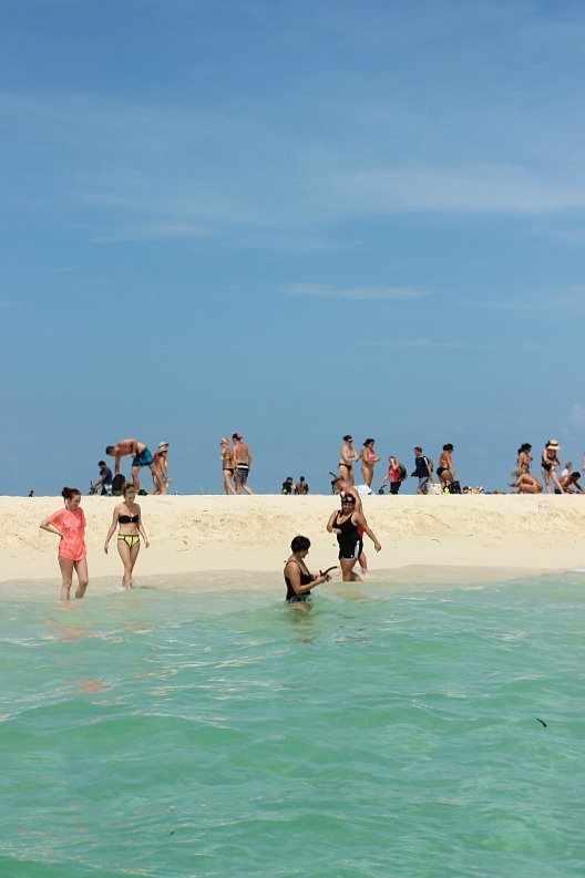 Turquoise waters of Bamboo Beach, one of the stops on our Koh Phi Phi Island Tour