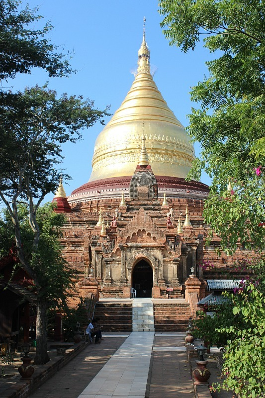 Dhammayazika Paya - one of the best temples in Bagan