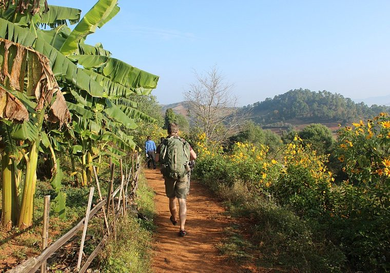 Hiking in Myanmar - Trekking Kalaw to Inle Lake
