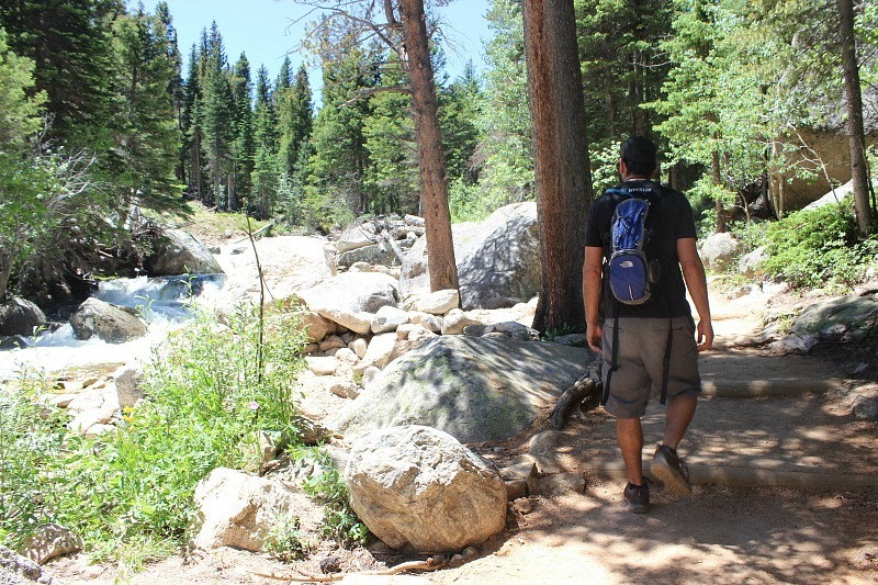 Hiking to Ouzel Falls in Rocky Mountain National Park
