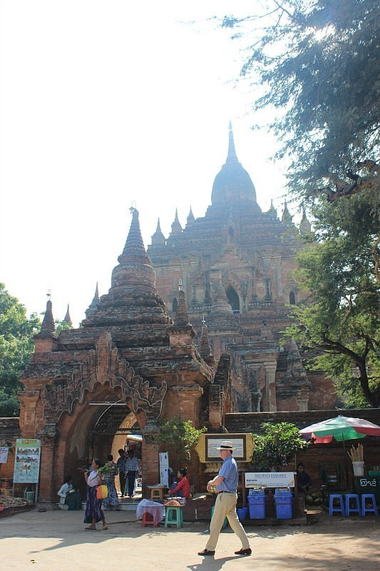 Htilominlo Temple - one of the best Bagan pagodas