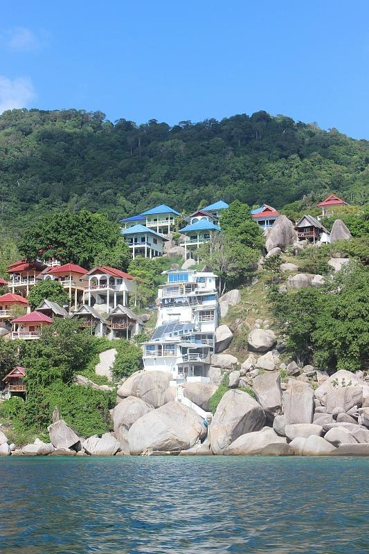 Ko Tao coast