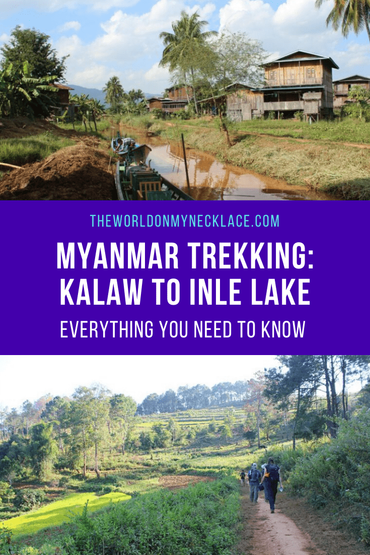 Myanmar Trekking - Kalaw to Inle Lake