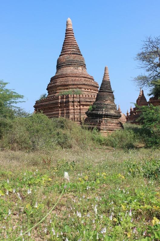 Rayangazu Group 2 Bagan pagodas