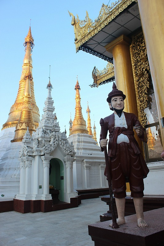 Shwedagon Pagoda is a must visit for any Yangon Itinerary