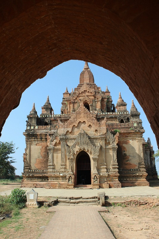 Sulamani Pahto - one of the most beautiful Bagan pagodas
