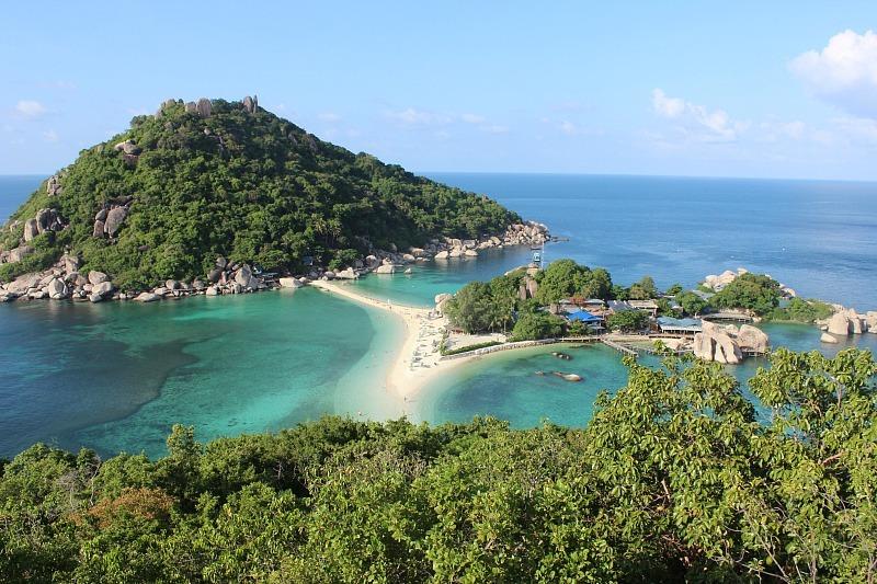 View over Ko Nang Yuan