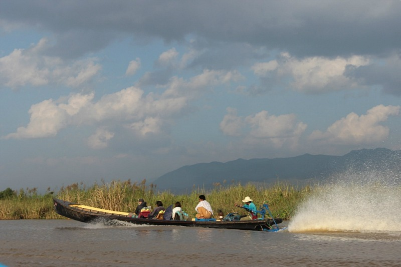 One of the top Inle Lake attractions is taking an Inle Lake Boat Tour